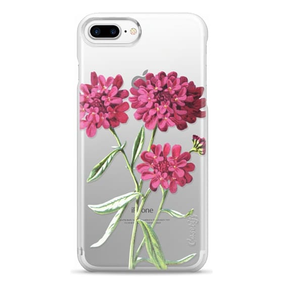 iPhone 7 Plus Cases - Magenta Floral