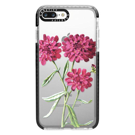 iPhone 7 Plus Cases - Magenta Floral
