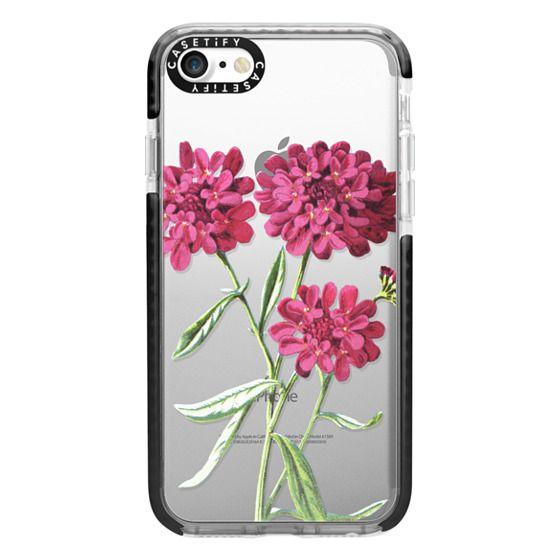 iPhone 7 Cases - Magenta Floral
