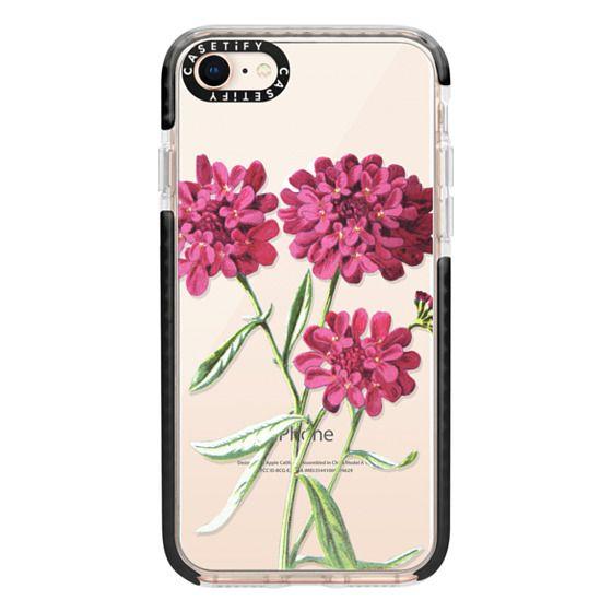 iPhone 8 Cases - Magenta Floral