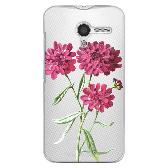 Moto X Cases - Magenta Floral