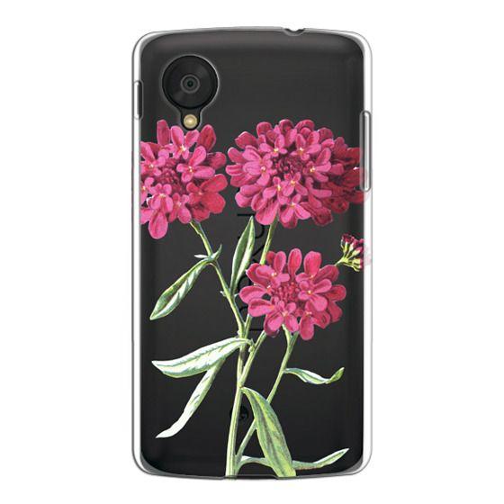 Nexus 5 Cases - Magenta Floral