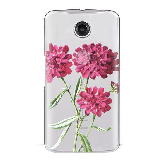 Nexus 6 Cases - Magenta Floral