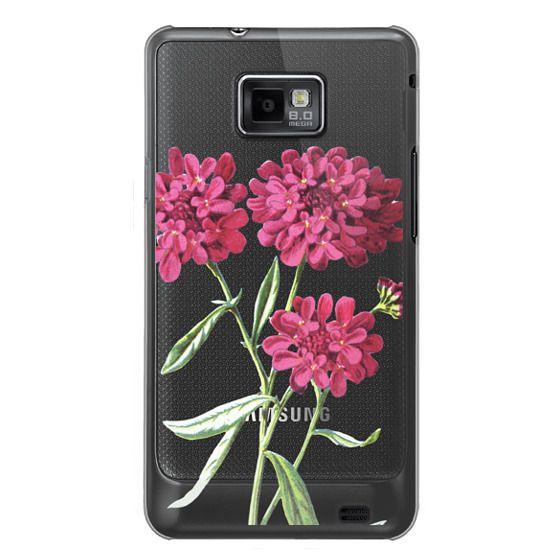 Samsung Galaxy S2 Cases - Magenta Floral