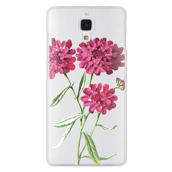 Xiaomi 4 Cases - Magenta Floral
