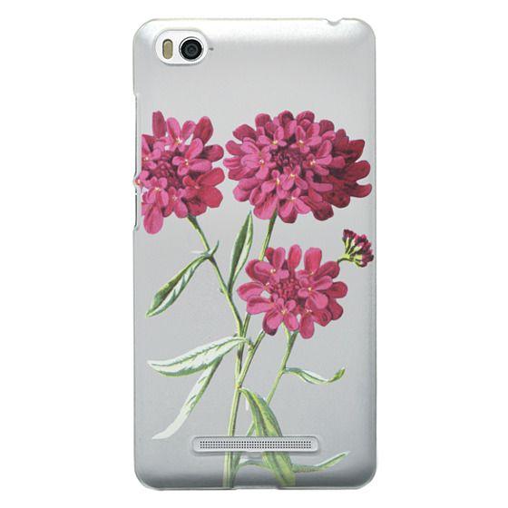 Xiaomi 4i Cases - Magenta Floral