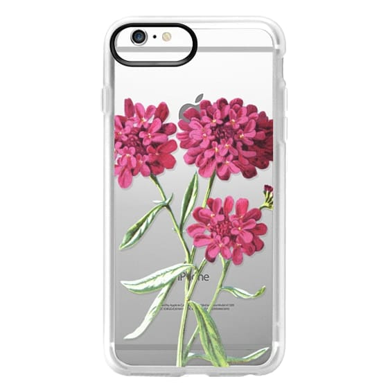 iPhone 6s Plus Cases - Magenta Floral