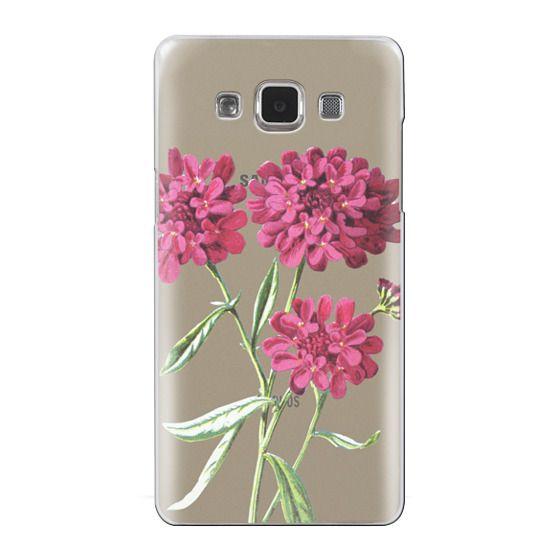 Samsung Galaxy A5 Cases - Magenta Floral