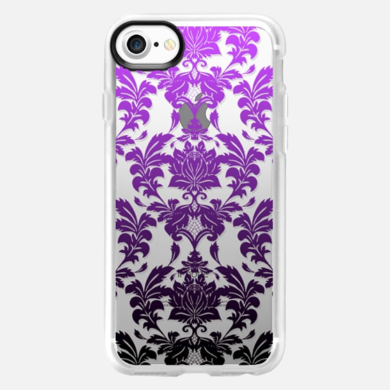 Ombre Damask 2 - Wallet Case