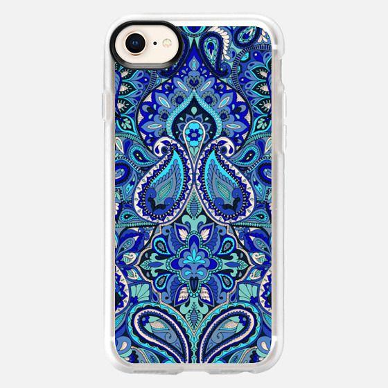 Paisley Blue - Snap Case