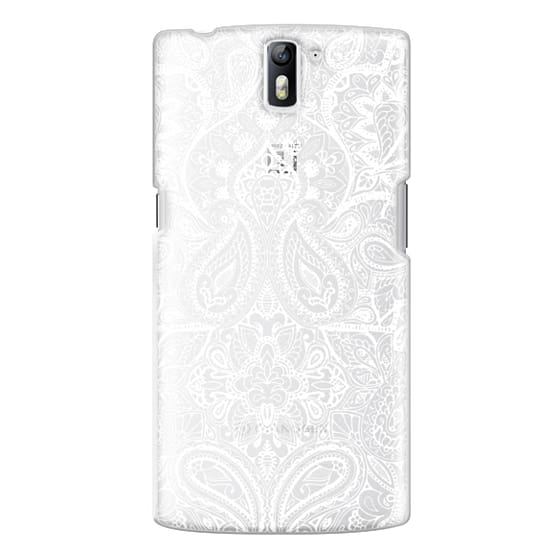 One Plus One Cases - Paisley White