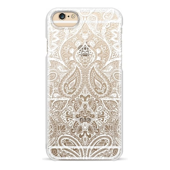 iPhone 6 Cases - Paisley White