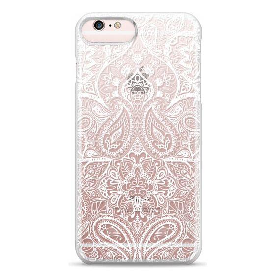 iPhone 6s Plus Cases - Paisley White