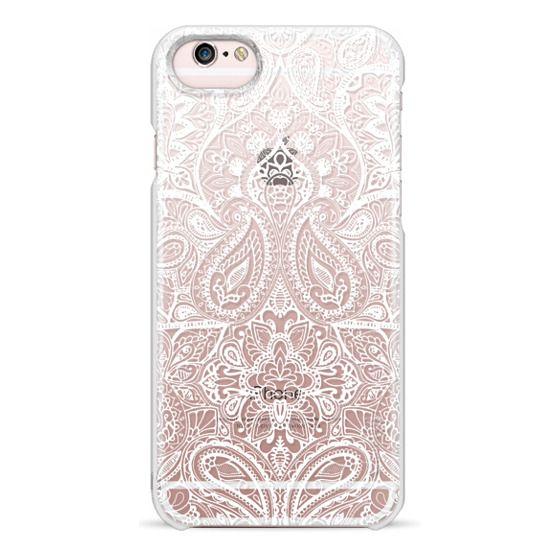 iPhone 6s Cases - Paisley White