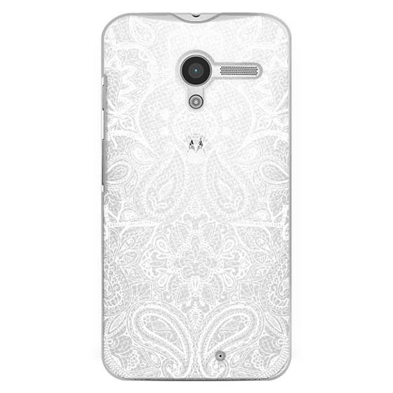 Moto X Cases - Paisley White