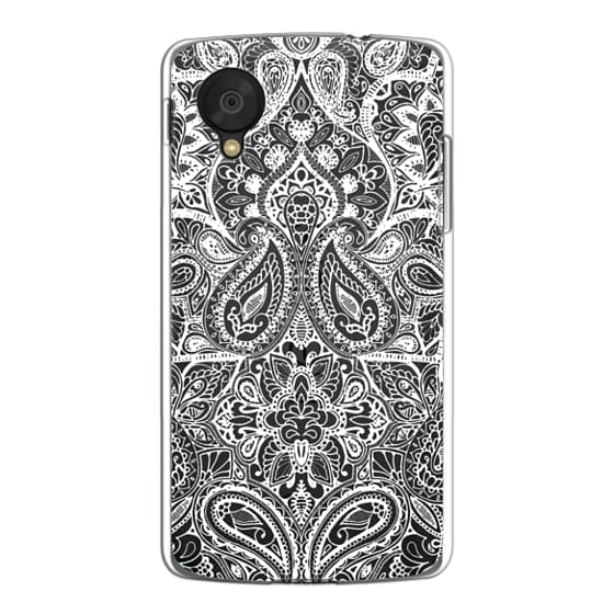 Nexus 5 Cases - Paisley White