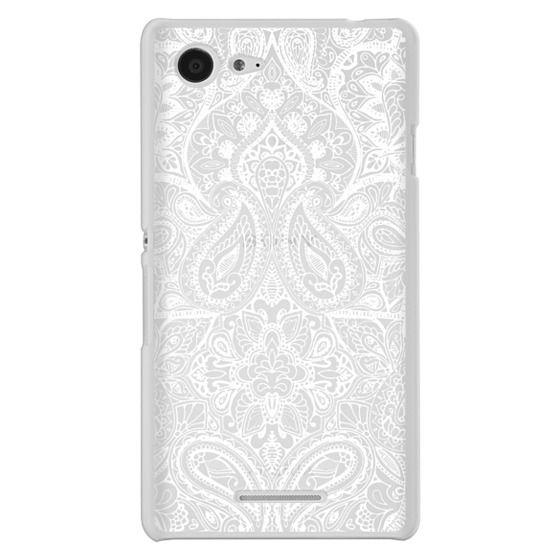 Sony E3 Cases - Paisley White