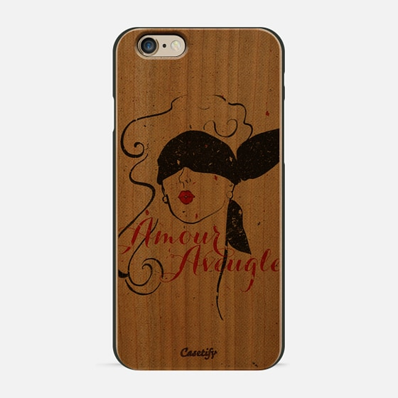 Black Red Vintage French Illustration Woman Sketch - New Standard Case