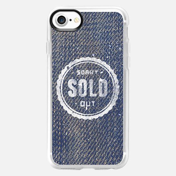Blue Denim Jeans Texture Cool Fashion Fabric Print -