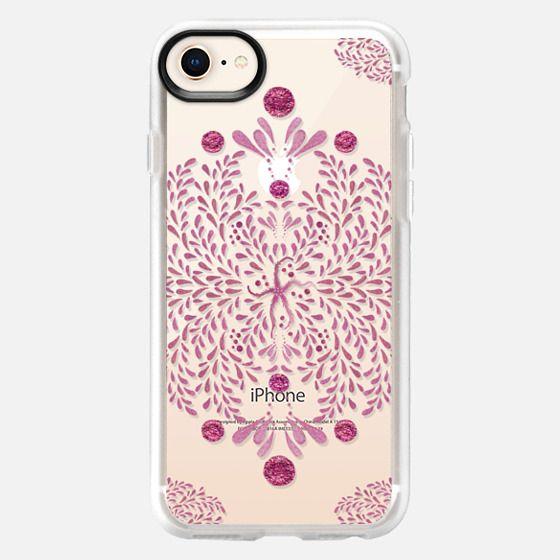 Starfish Glitz in Pink - Snap Case