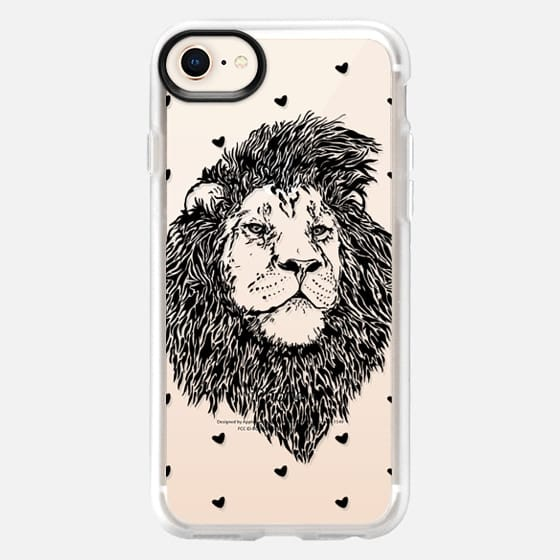 Lion Heart - Snap Case