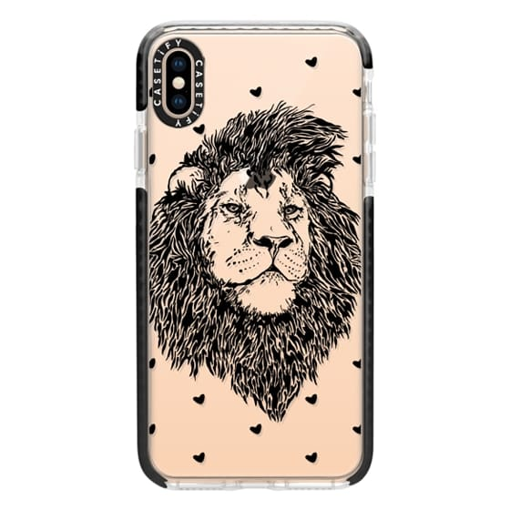 iPhone XS Max Cases - Lion Heart