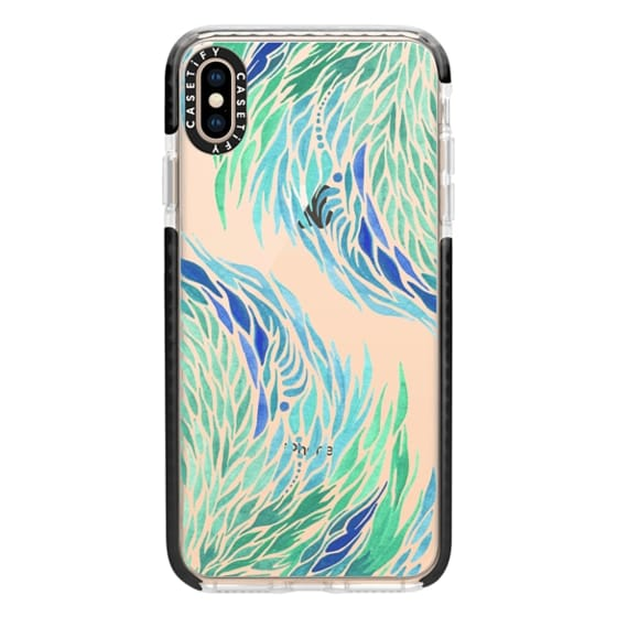 iPhone XS Max Cases - Tidal Flow
