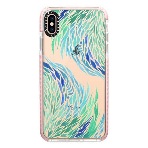 iPhone XS Max Cases - Tidal Flow