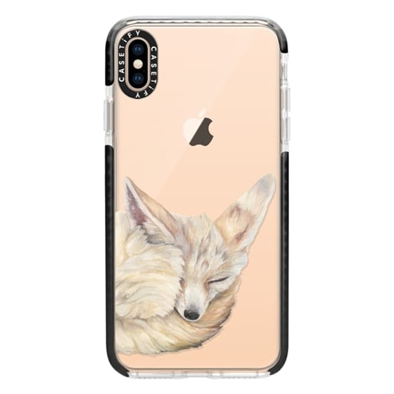 iPhone XS Max Cases - Sleeping Fennec Fox