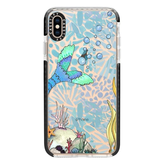 iPhone XS Max Cases - Mermaid Love
