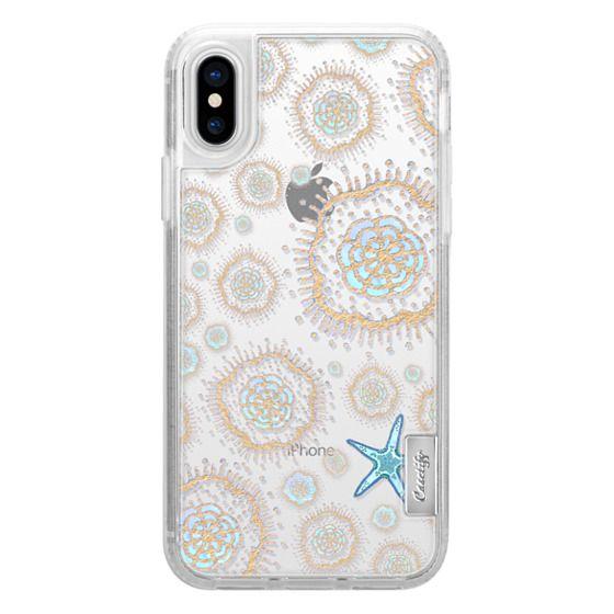 iPhone X Cases - Royal Starfish (Sky)