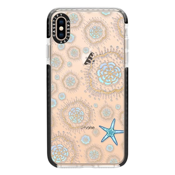 iPhone XS Max Cases - Royal Starfish (Sky)