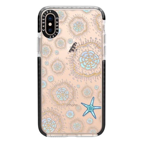 iPhone XS Cases - Royal Starfish (Sky)