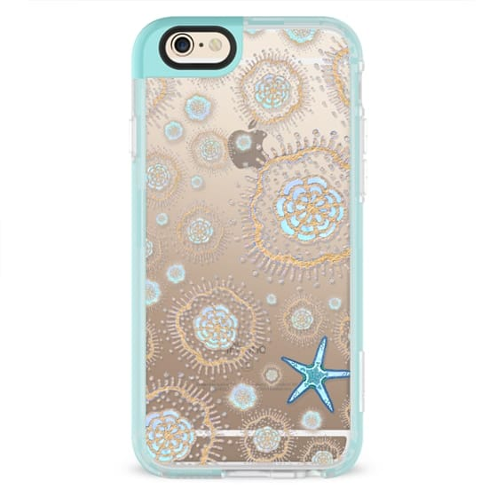iPhone 4 Cases - Royal Starfish (Sky)