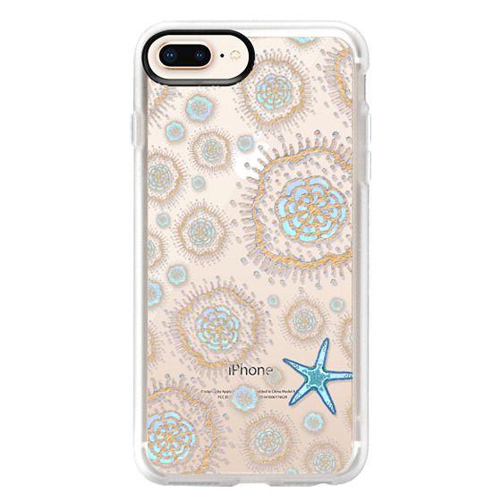 iPhone 8 Plus Cases - Royal Starfish (Sky)