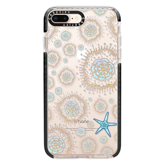 iPhone 8 Plus Cases - Royal Starfish (Sky)