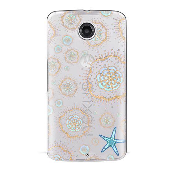 Nexus 6 Cases - Royal Starfish (Sky)