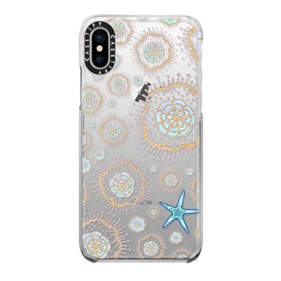 iPhone X Cases - Royal Starfish (Sky)