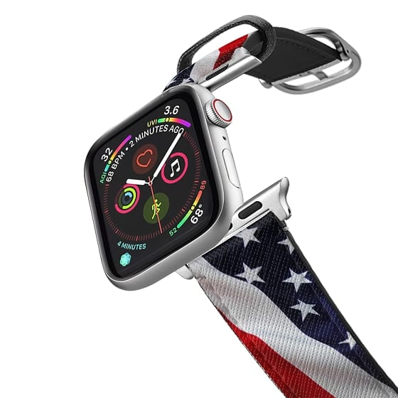Apple Watch 38mm Bands - STARS AND STRIPES #1