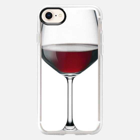 GLASS HALF FULL - Snap Case