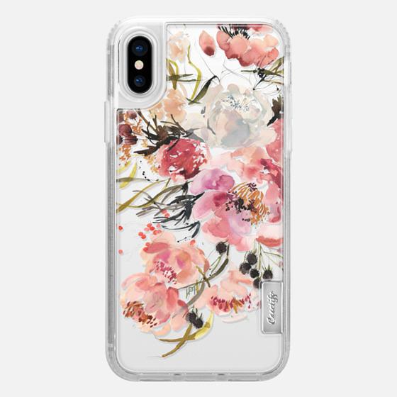 iPhone X 保护壳 - SHADE BLOSSOM