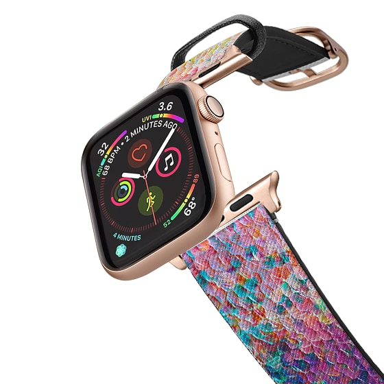 CASETiFY Apple Watch Band (42mm/44mm) Saffiano Leather Watchband V4 - Some Say, Dream On by Ingrid C
