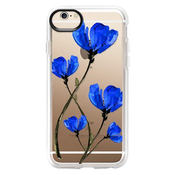 iPhone 6 Cases - Blue Poppy. Anemones. Summer flowers