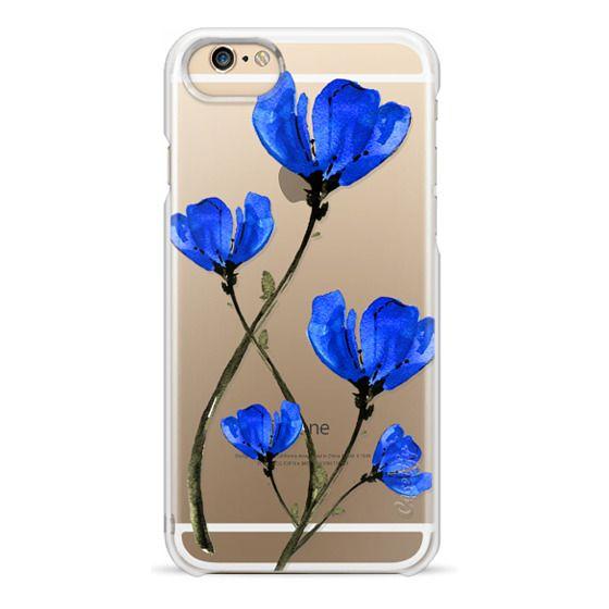 iPhone 4 Cases - Blue Poppy. Anemones. Summer flowers