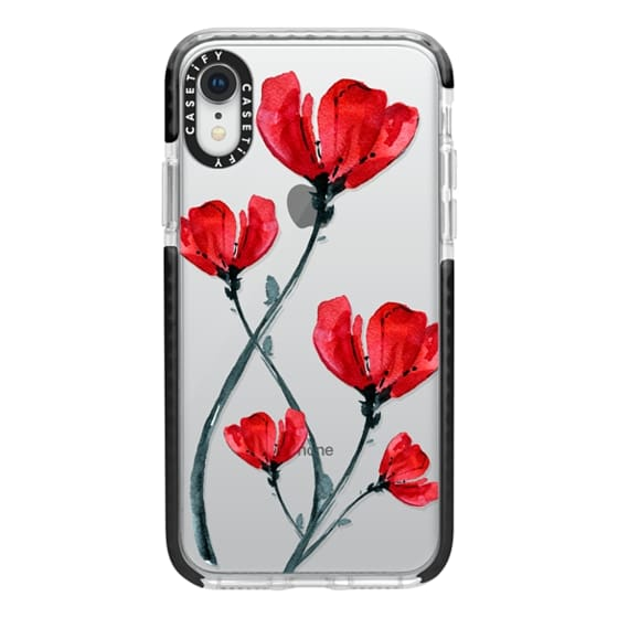 iPhone XR Cases - Red Poppy. Summer flowers I