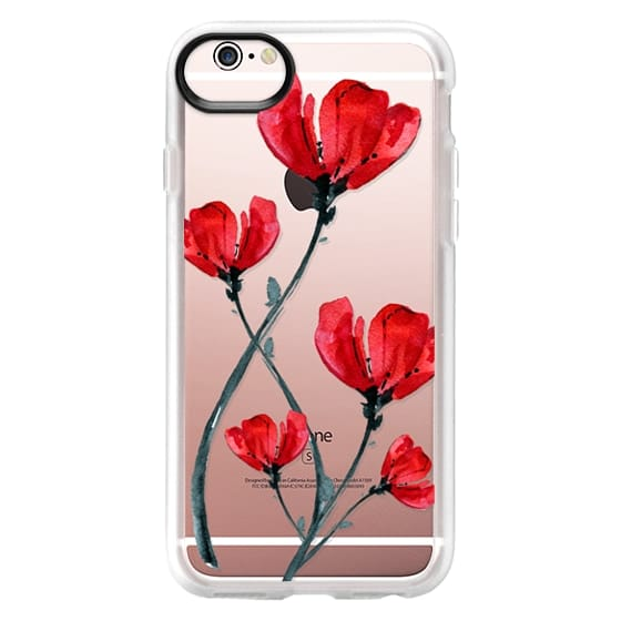 iPhone 6s Cases - Red Poppy. Summer flowers I