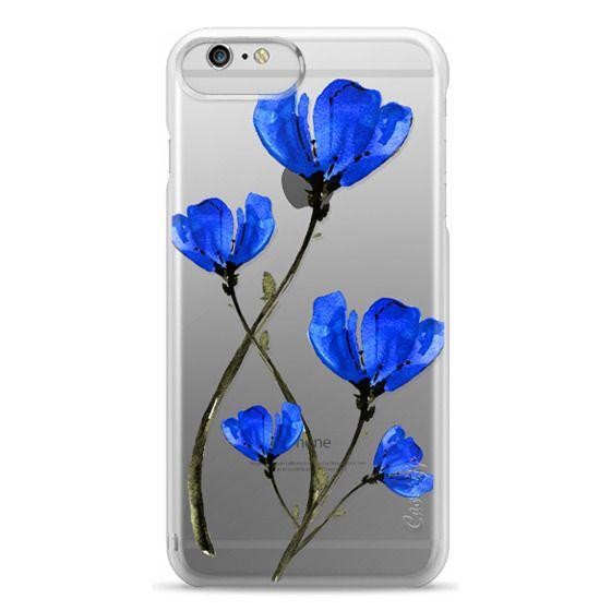 iPhone 6 Plus Cases - Blue Poppy. Anemones. Summer flowers