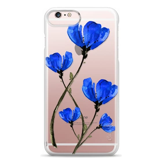 iPhone 6s Plus Cases - Blue Poppy. Anemones. Summer flowers