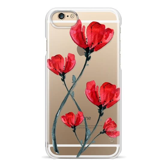 iPhone 6 Cases - Red Poppy. Summer flowers I
