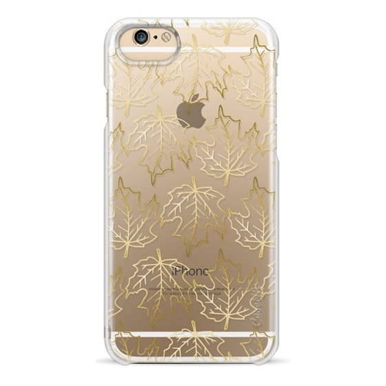 iPhone 6s Cases - Gold Leaves, Fall / Autumn Pattern
